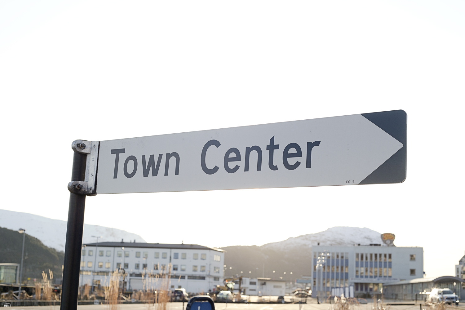 Town center sign by Studio Metsä Photography