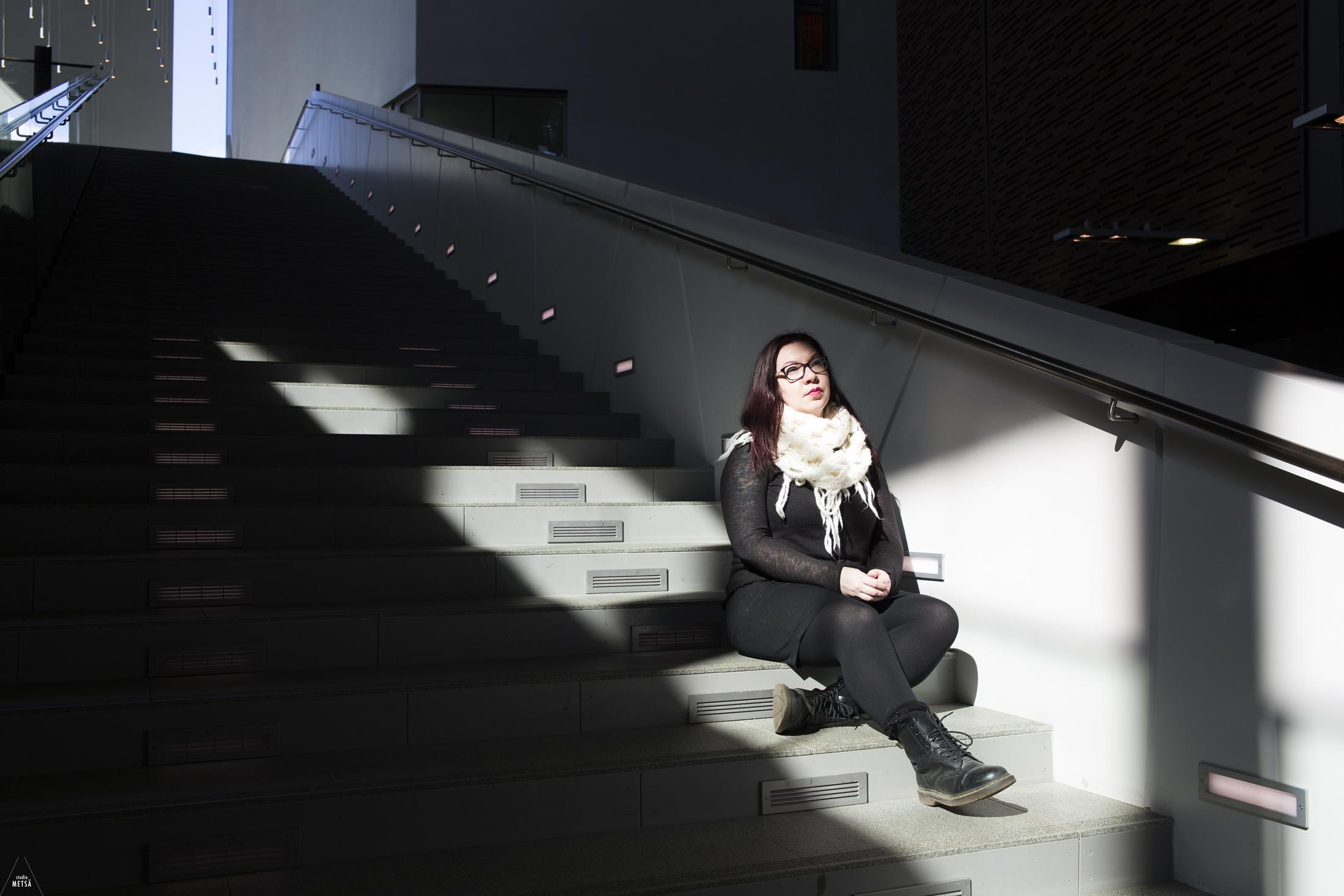 Tuulin voimaannuttava potrettikuvaus Helsingissä / Empowerment portrait session