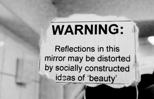 Distorted beauty ideals