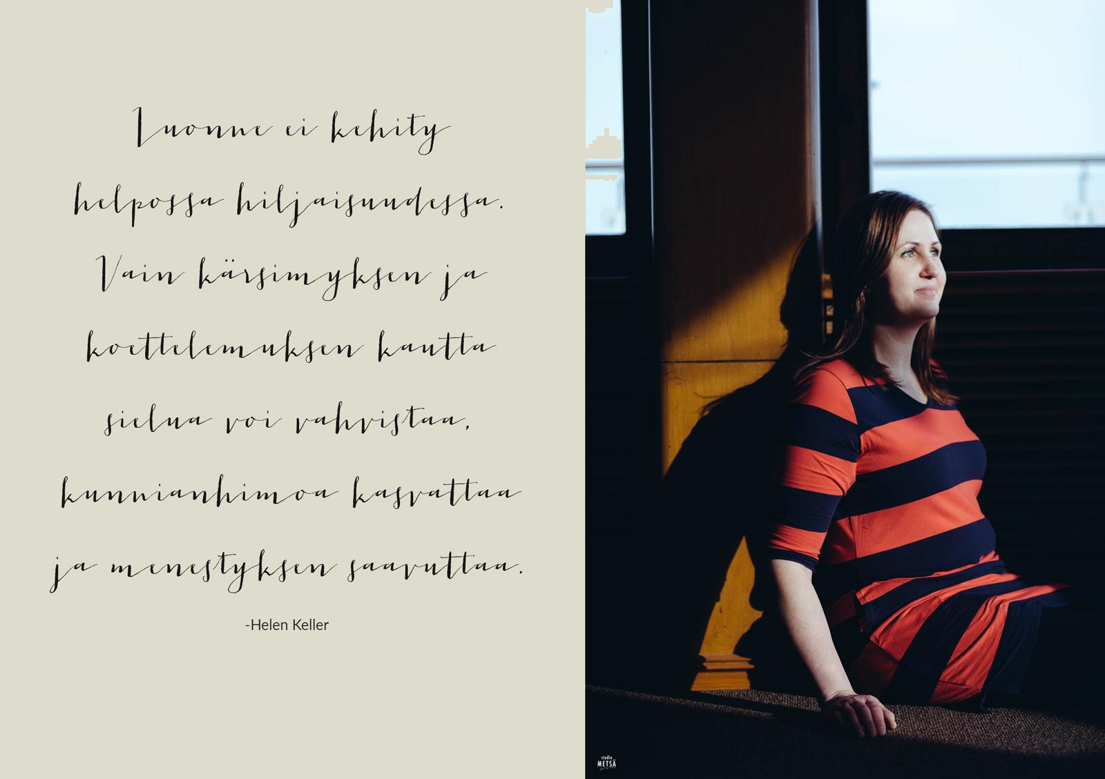 Studio Metsä valokuvaus Me Naiset yhteistyö