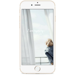 I am inspiring Phone Wallpaper Background by Studio Metsä