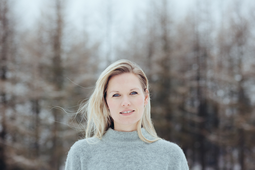 Julie Damhus photographed by Erika Lind of Studio Metsä