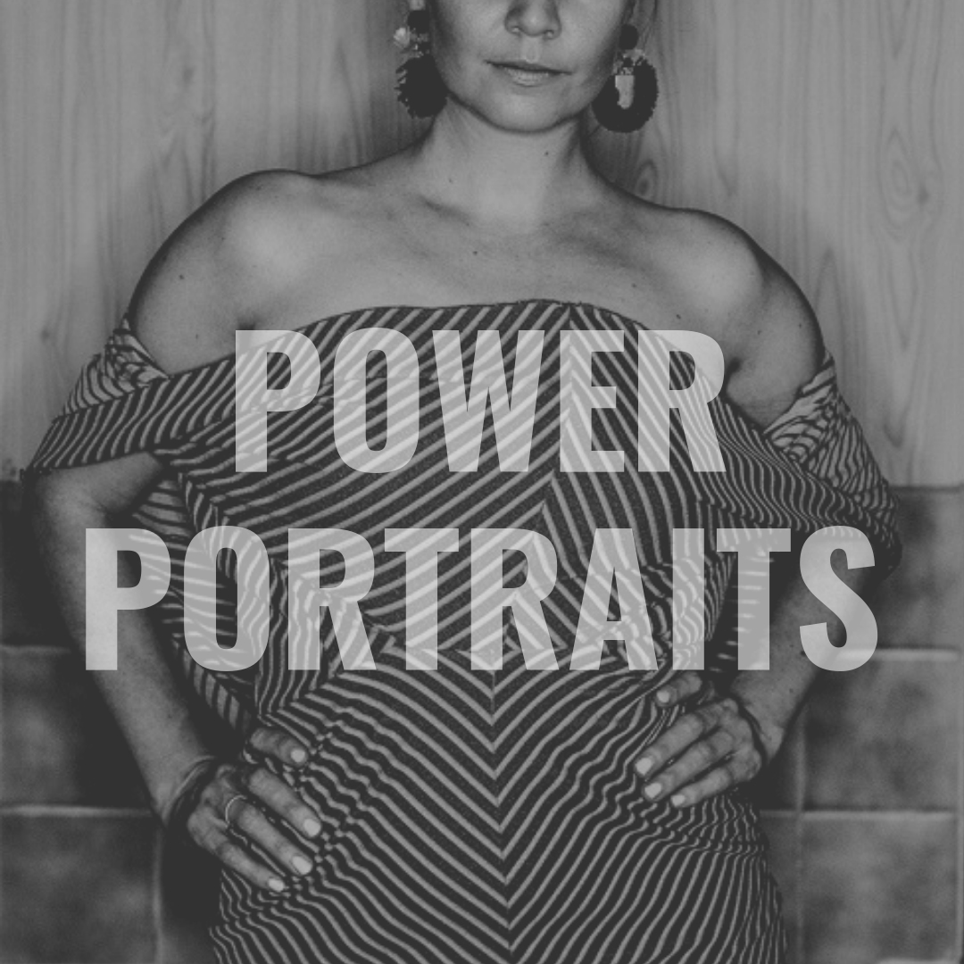 Power portraits of you in your power, be seen, show yourself, free yourself by photographer Erika Lind from Studio Metsä Available Worldwide