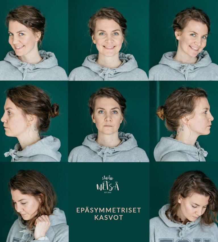 Epäsymmetriset kasvot ja Studio Metsä
