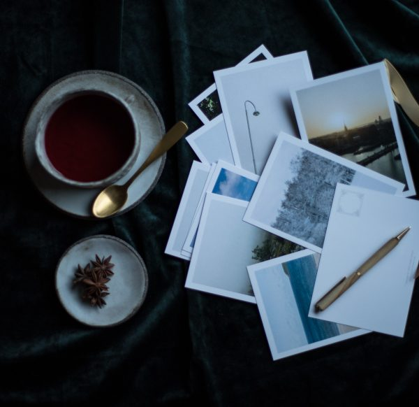 Minimal Landscape Photography Postcards Finland Scenery